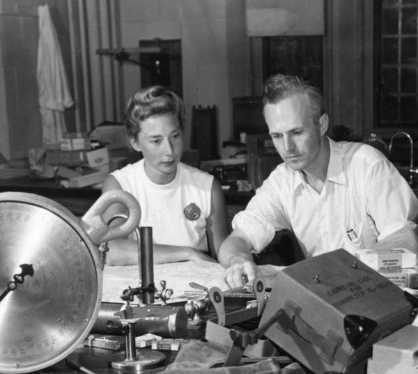Кнут Шмидт-Ниельсон и его жена Бодиль
