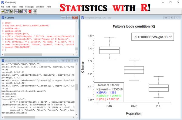 Статитстика с R
