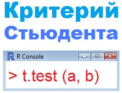 t-тест простыми словами